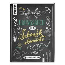 """Handlettering - Übungsbuch der Schmuckelemente Handlettering """"Übungsbuch der Schmuckelemente"""""""