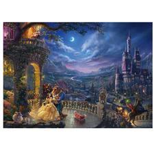 Disney, Die Schöne und das Biest - Tanz im Mondlicht Puzzles nach Kunstwerken von Thomas Kinkade