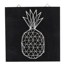 String Art - Ananas String Art: Stylische Fadenkunst für Ihr Zuhause.