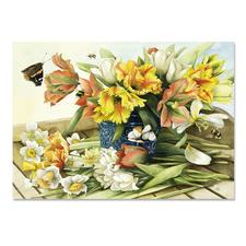 Puzzle - Marjolein Bastin, Frühlingsblüher Ein Spass für die ganze Familie – spannend und entspannend zugleich.