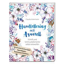 Buch - Handlettering mit Aquarell
