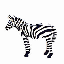 3D Holz-Puzzle - Zebra Gestalten mit Holz.