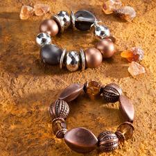 "Armbänder ""Kandis"" oder ""Kakao"""