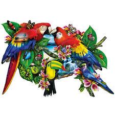 """Puzzle """"Papageien"""" Ein Spass für die ganze Familie – spannend und entspannend zugleich."""