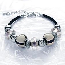 "Komplettpackung ""Frühlingshafte Armbänder"" Exklusiver Perlenschmuck."