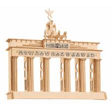 "3D Holz-Puzzle ""Brandenburger Tor"" Gestalten mit Holz."