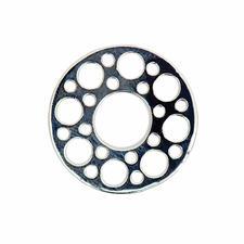 Scheibe Kreise Silber
