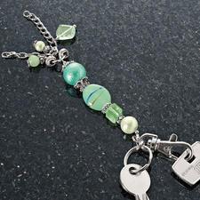 Trendige Schlüsselanhänger im Set Trendige Schlüsselanhänger - schnell selbst gefertigt.