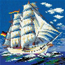 """Ministeck """"Segelschiff"""" Ministeck - Einzigartig detailreich, einzigartig abwechslungsreich"""
