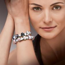 Komplettpackung - Bijou-Armbänder Im Stil exklusiver Designer-Kollektionen: begehrte Bijou-Armbänder zum individuellen Gestalten.