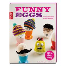 """Buch """"Funny Eggs"""" Coole Eierwärmer schnell gehäkelt."""