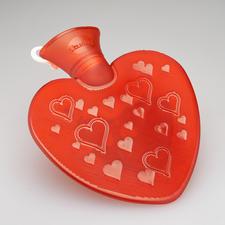 Herzwärmflasche