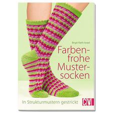 """Buch - Farbenfrohe Mustersocken Buch """"Farbenfrohe Mustersocken"""""""