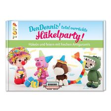 """Buch """"DenDennis' total verrückte Häkelparty!:  Häkeln und feiern mit frechen Amigurumis"""" DenDennis' total verrückte Häkelparty!: Häkeln und feiern mit frechen Amigurumis"""
