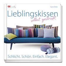 """Buch """"Lieblingskissen selbst gestrickt"""""""