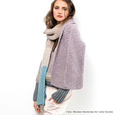 Komplettpackung Schal aus Alta Moda Super Baby von Lana Grossa
