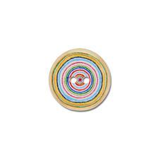 Jim Knopf Kokosknopf - Circle, Bunt, Ø 15 mm, 1 Stück.