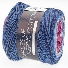 604 Fliederpink/Violett/Weiss/Mittelblau/Blau/Schwarz