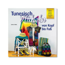 """Buch - Tunesisch Häkeln von Kopf bis Fuss Buch """"Tunesisch Häkeln von Kopf bis Fuss"""""""
