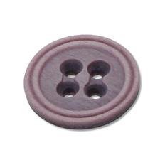 Knopf meliert, Ø 20 mm, 1 Stück Knopf meliert.