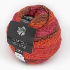 401 Orange/Erdbeer/Pastellrot/Rosenholz