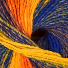 58 Blau/Lila/Orangegelb