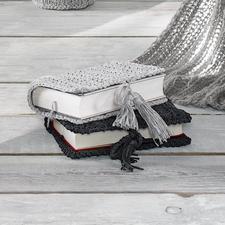 Anleitung 169/1, Gehäkelte Buchhüllen aus Bandana von Junghans-Wolle Anleitung 169/1, Gehäkelte Buchhüllen aus Bandana.