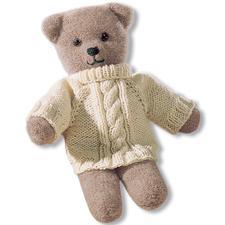 Anleitung 250/4, Teddy aus Poco mit Pulli aus Landwolle von Junghans-Wolle