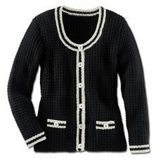 Modell 232/3, Damenjacke aus Merino-Cotton von Junghans-Wolle