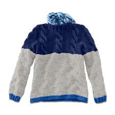 Anleitung 112/5, Pullover aus Clou von Junghans-Wolle