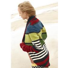 Modell 203/3, Jacke aus Topas von ggh, Modell aus Rebecca Heft 52