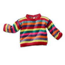 Anleitung 448/4, Babypulli aus Cotton-Superfine II von Junghans-Wolle