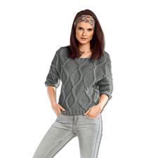 Anleitung 085/5, Pullover aus Novata von Junghans-Wolle