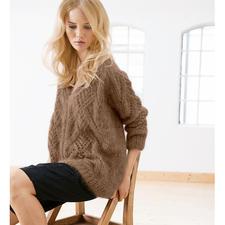 Modell 345/4, Pullover und Loop aus Silkhair von Lana Grossa