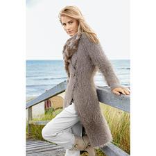 Modell 348/4, Mantel aus Peppina und Silkhair von Lana Grossa