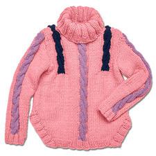 Modell 173/5, Pullover aus Merino Dick von Junghans-Wolle