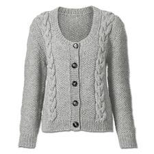 Anleitung 051/5, Jacke aus Landwolle von Junghans-Wolle