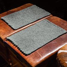 Modell 241/5, Tischsets aus Feltro von Lana Grossa