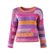Modell 017/6, Pullover aus Pinta von Junghans-Wolle