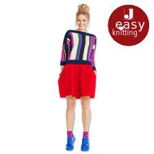 Modell 031/6, Pullover aus Roma von Junghans-Wolle