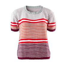 Modell 032/6, Pullover aus Cotonia II von Junghans-Wolle