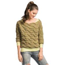 Modell 092/6, Damenpullover, 2-fädig aus Swing von Junghans-Wolle