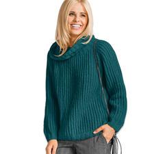 Modell 136/6, Damenpullover aus Aspra von Junghans-Wolle