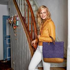 Modell 164/6, Tasche aus Feltro von Lana Grossa