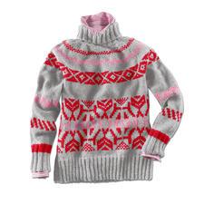 Anleitung 212/6, Pullover aus Landwolle von Junghans-Wolle