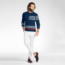 Anleitung 316/6, Pullover aus Merino-Cotton von Junghans-Wolle