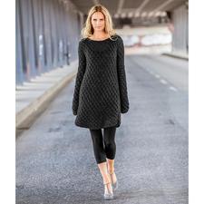 Modell 317/6, Kleid aus Dito Paillettes von Lana Grossa