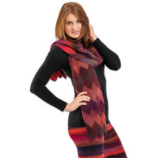 Modell 372/6, Schal aus Murano not only for Socks von Austermann®