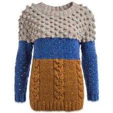 Modell 413/6, Damenpullover aus Landlord von Junghans-Wolle