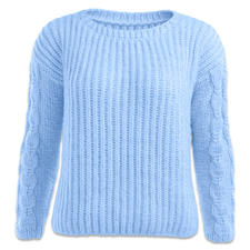 Modell 435/6, Pullover aus Novata von Junghans-Wolle